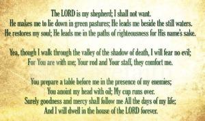 psalm23